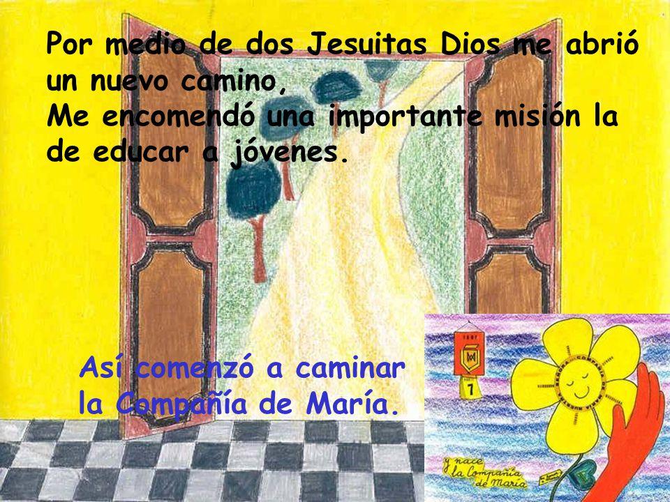 Aquella noche en el Cister pude comprender que Jesús tenía otro camino marcado para mí y eso me tranquilizó.