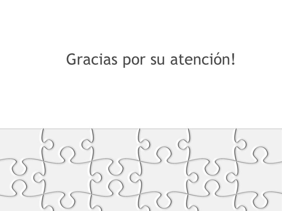 RECURSOS FORMATOS Y SOPORTES Gracias por su atención!