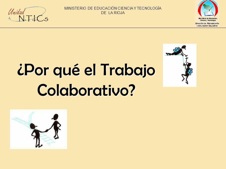 ¿Por qué el Trabajo Colaborativo MINISTERIO DE EDUCACIÓN CIENCIA Y TECNOLOGÍA DE LA RIOJA