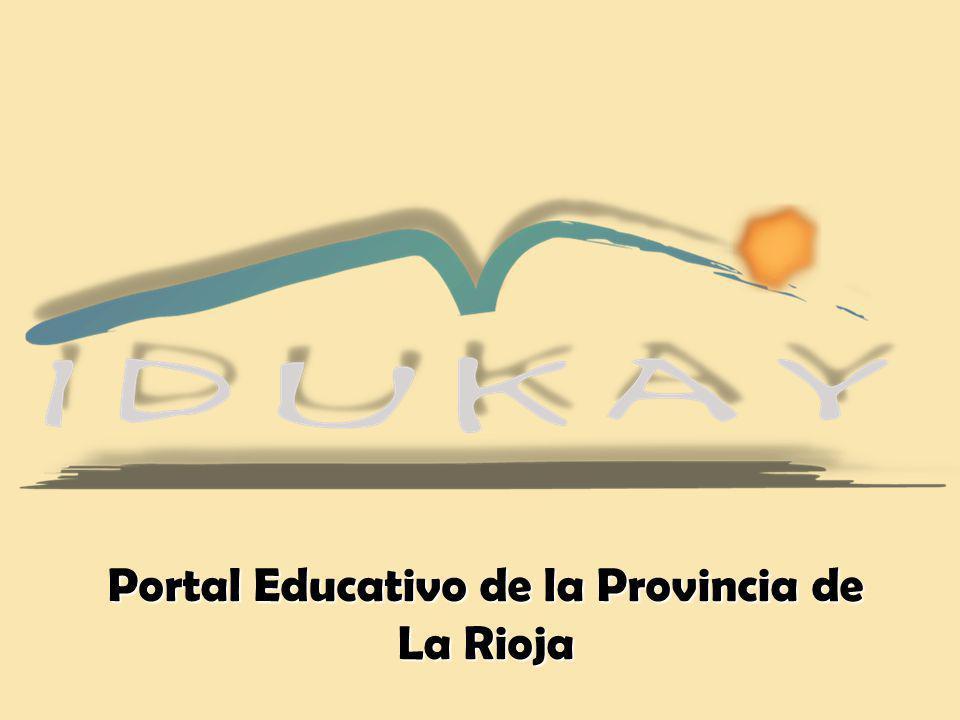Portal Educativo de la Provincia de La Rioja