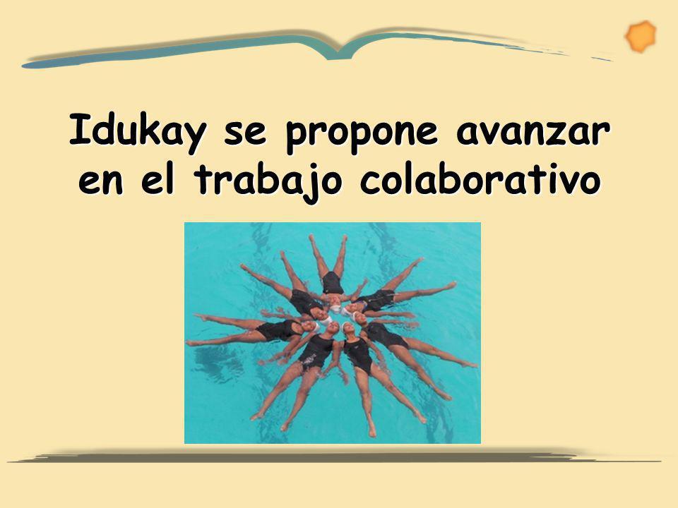 Idukay se propone avanzar en el trabajo colaborativo