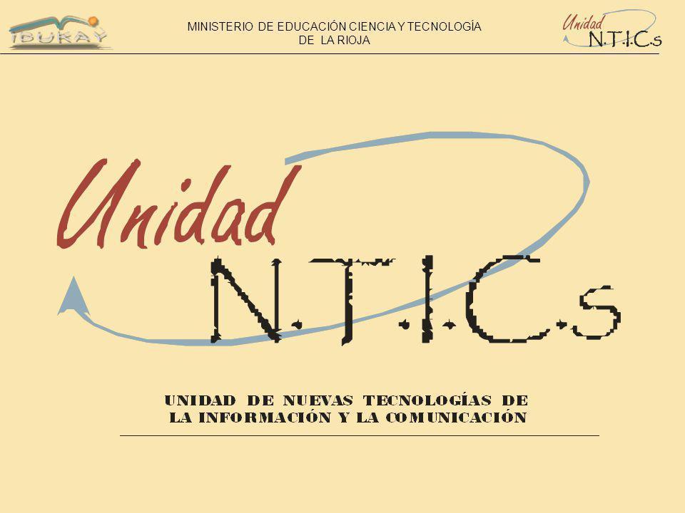 MINISTERIO DE EDUCACIÓN CIENCIA Y TECNOLOGÍA DE LA RIOJA