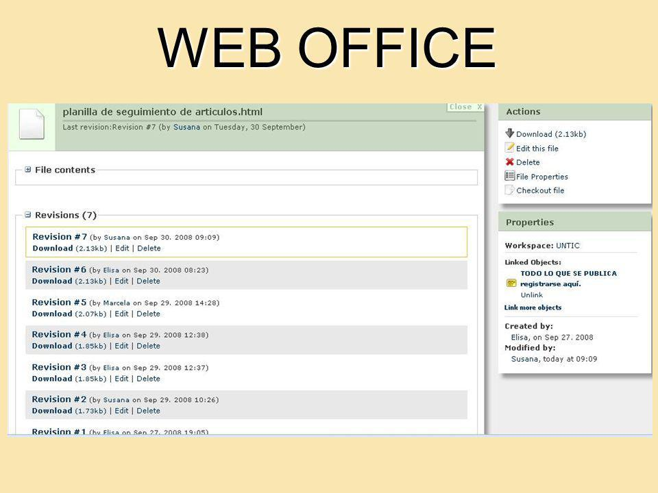 WEB OFFICE