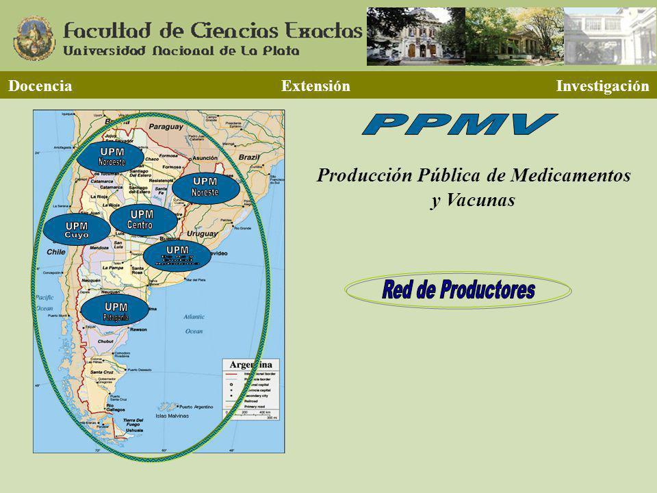 Producción Pública de Medicamentos y Vacunas