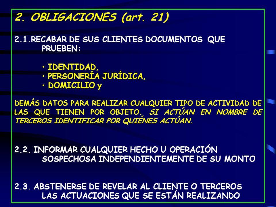 2.OBLIGACIONES (art.
