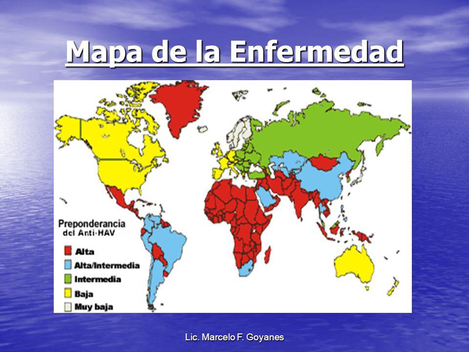 Lic. Marcelo F. Goyanes Mapa de la Enfermedad