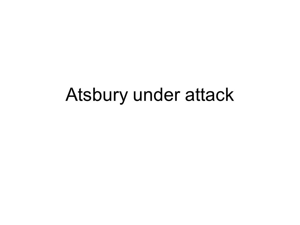 Atsbury under attack
