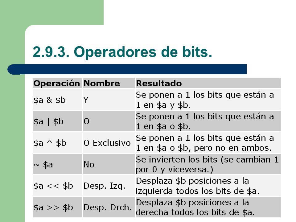 2.9.3. Operadores de bits.