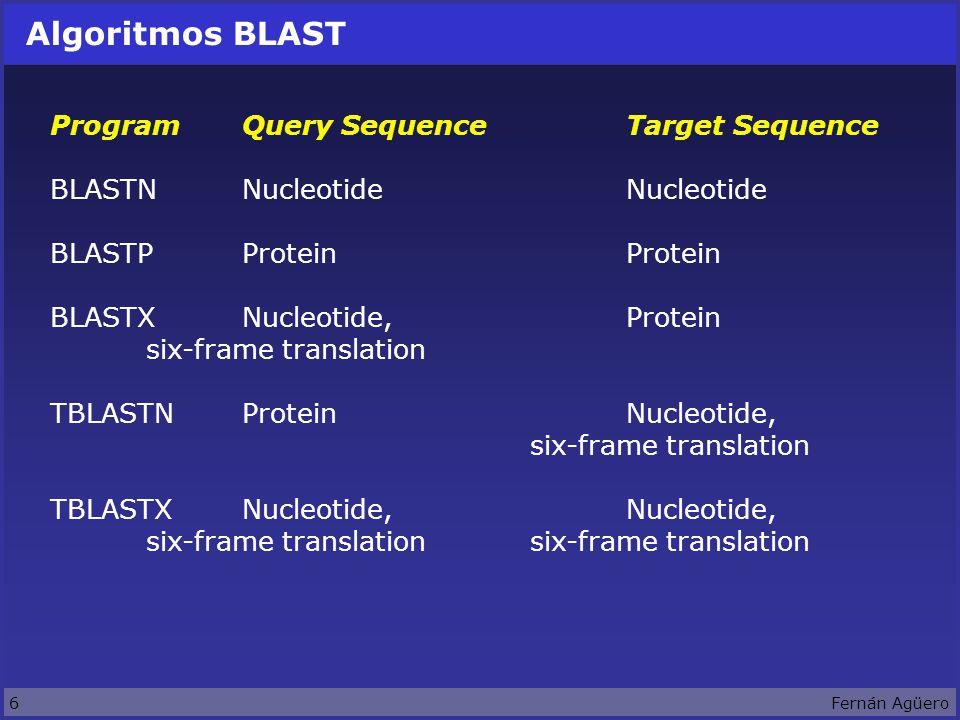 67Fernán Agüero Proceso de predicción de estructura terciaria Query Protein Protein neighbours Structure links Structure neighbours of structures.