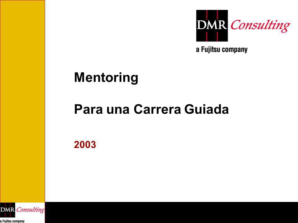 Mentoring Para una Carrera Guiada 2003