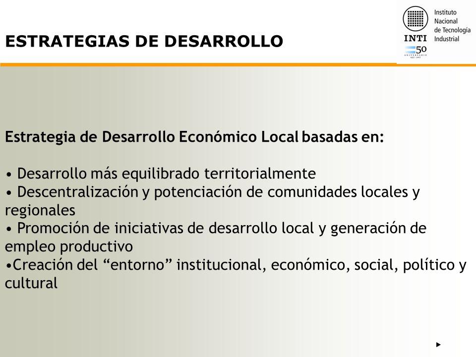 Desarrollo como resultado del esfuerzo organizativo e institucional del conjunto de la sociedad y no solo del correcto desempeño de los mercados.