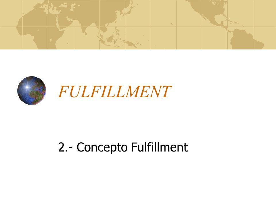 FULFILLMENT 2.- Concepto Fulfillment