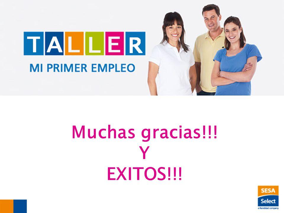 Muchas gracias!!! Y EXITOS!!!
