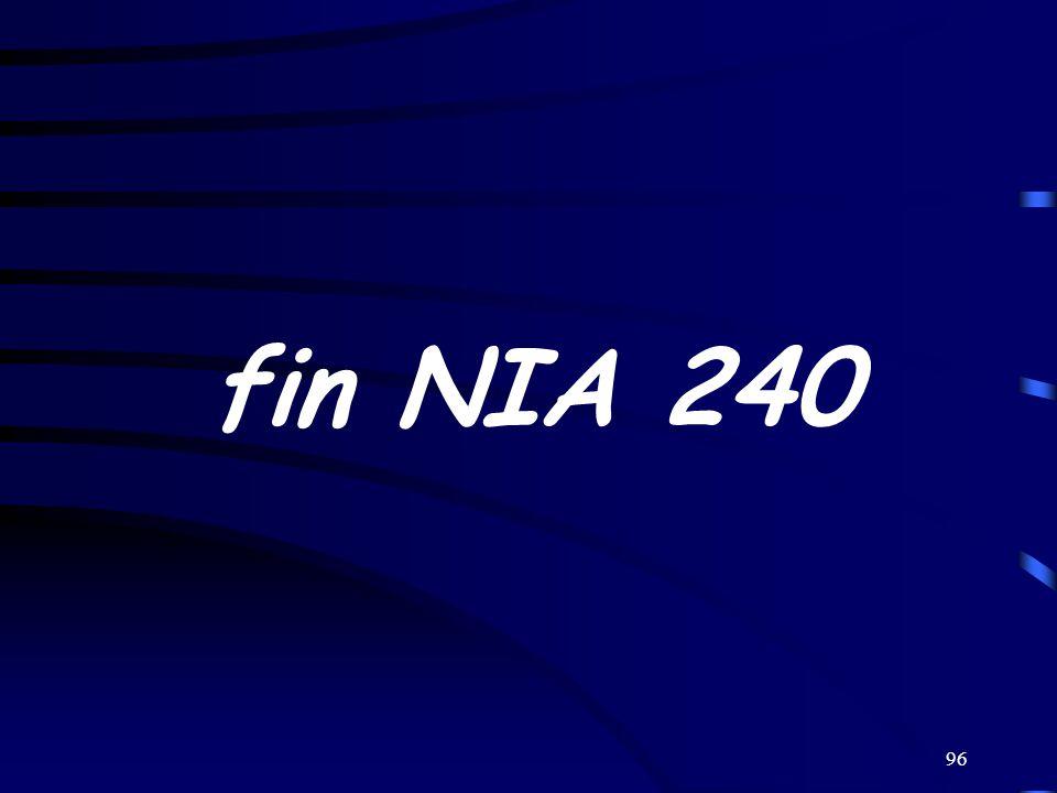 96 fin NIA 240