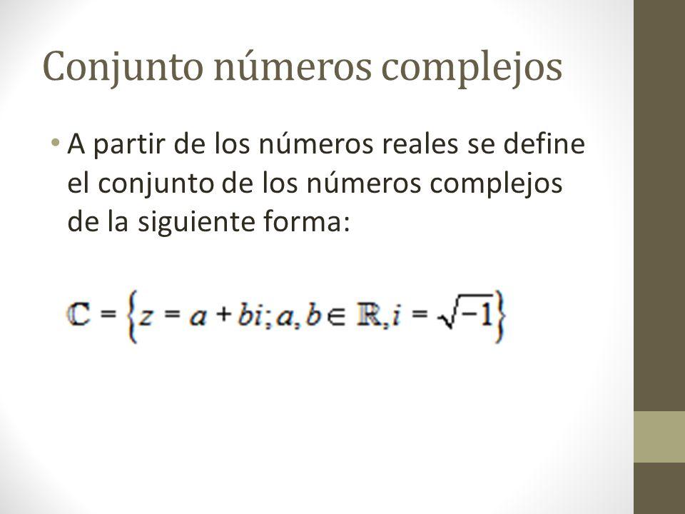 Multiplicación de complejos: Dados los complejos z1= (a; b) y z2 = (c; d), se define: z1.