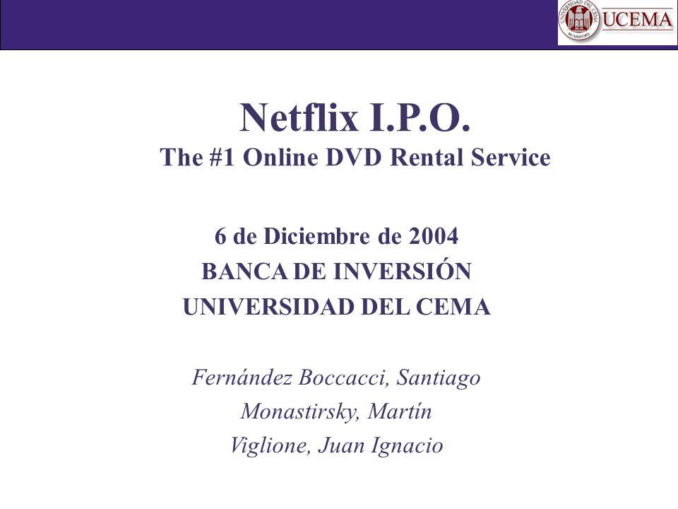Netflix I.P.O.