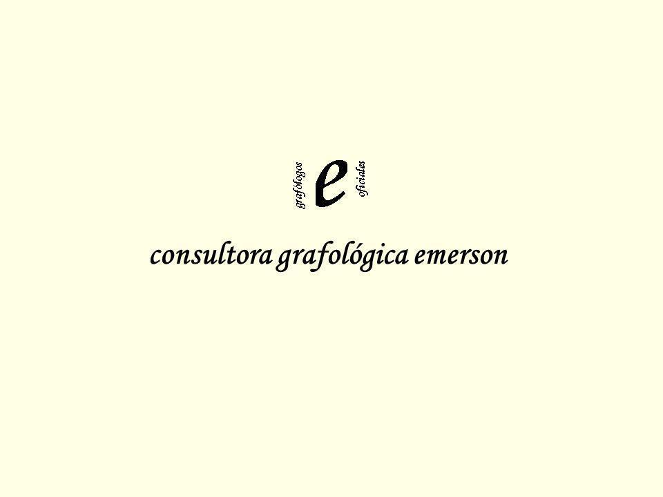 Letras Reflejas (1) a o: comunicación, afectividad, confiabilidad.