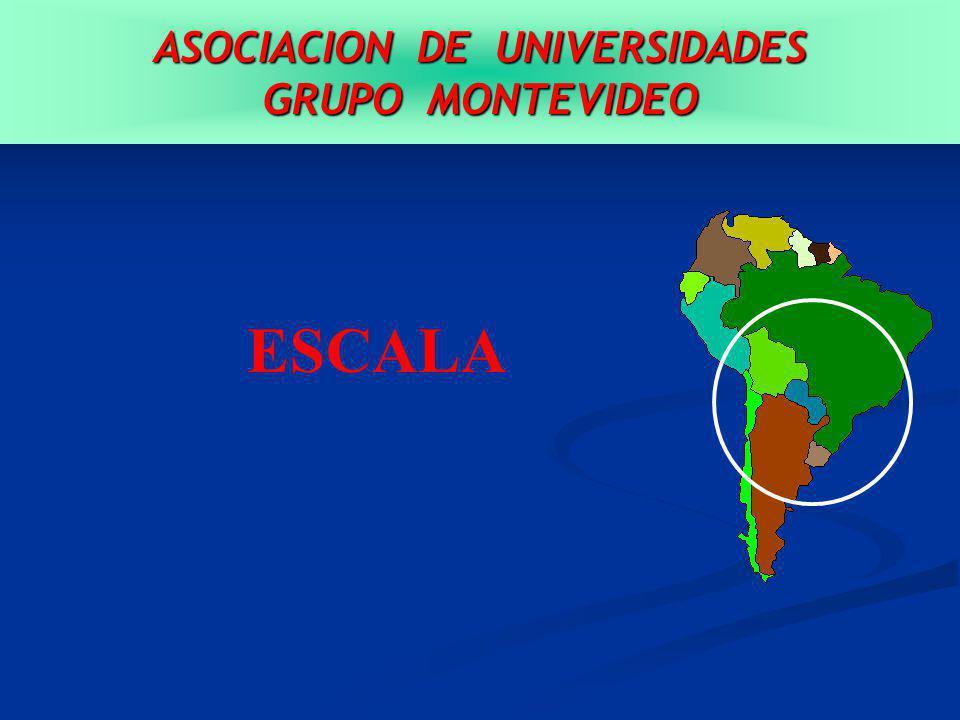 ASOCIACION DE UNIVERSIDADES GRUPO MONTEVIDEO ESCALA