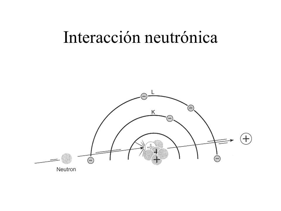 Interacción neutrónica