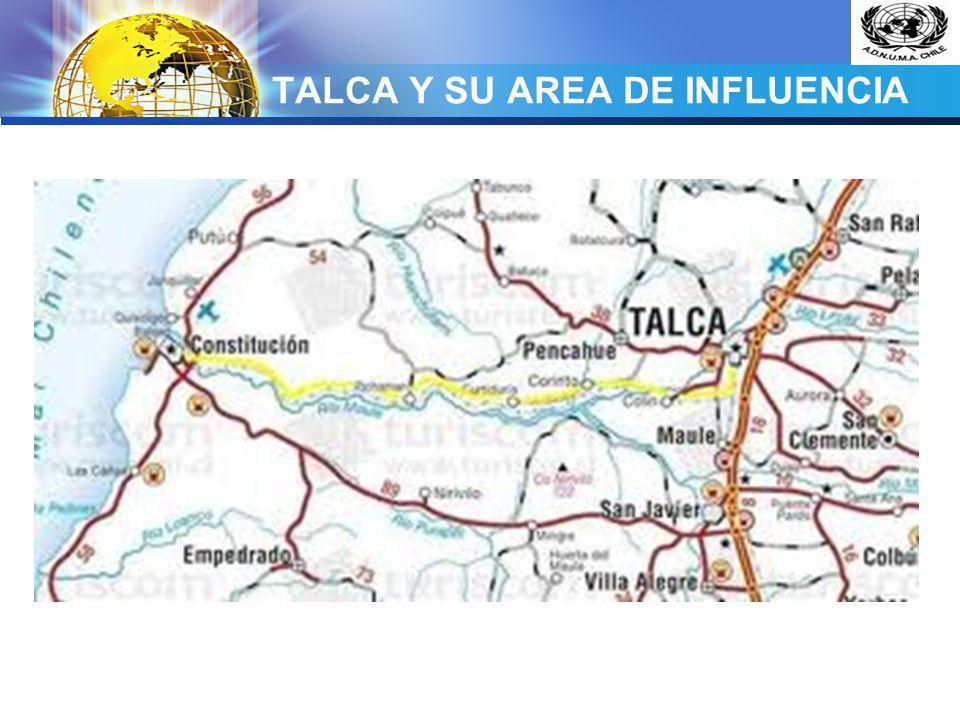 LOGO TALCA Y SU AREA DE INFLUENCIA