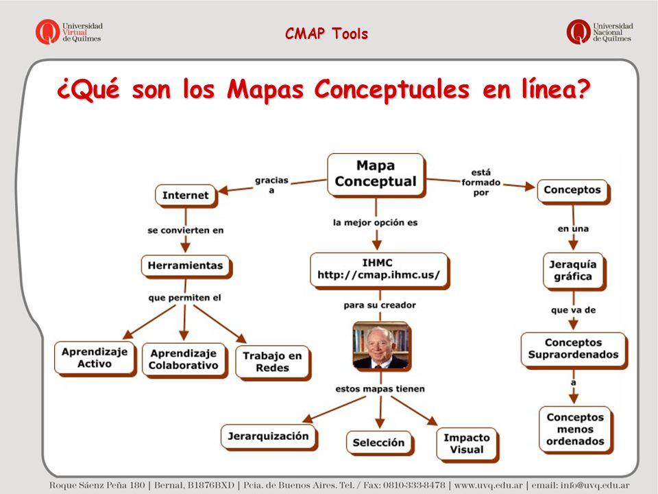 ¿Qué son los Mapas Conceptuales en línea? CMAP Tools