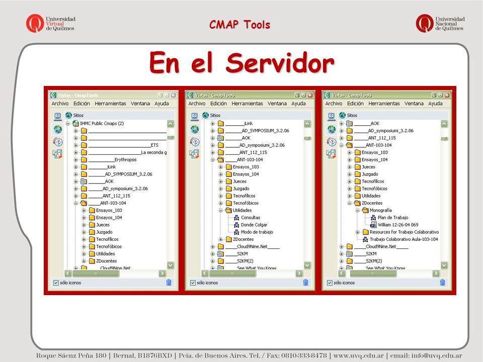 En el Servidor CMAP Tools
