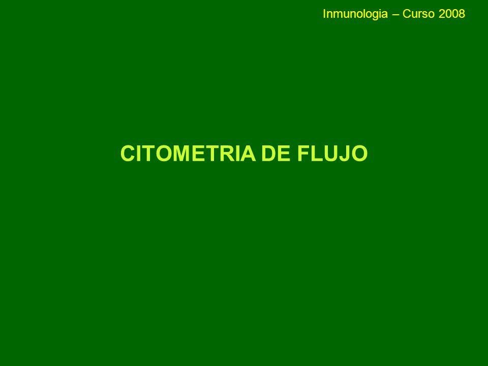 PROLIFERACION CELULAR: CFSE - Carboxifluorescein diacetato succinimidil ester (CFSE) - Sonda fluorescente que se une a proteínas intracelulares y que se reparte por igual entre las células hijas