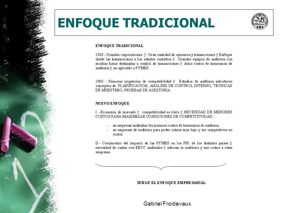 Gabriel Froidevaux ENFOQUE TRADICIONAL