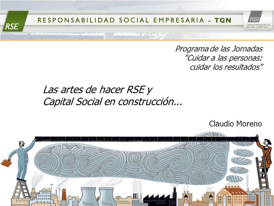 Las artes de hacer RSE… La Empresa Licenciataria de servicio público de transporte de gas.