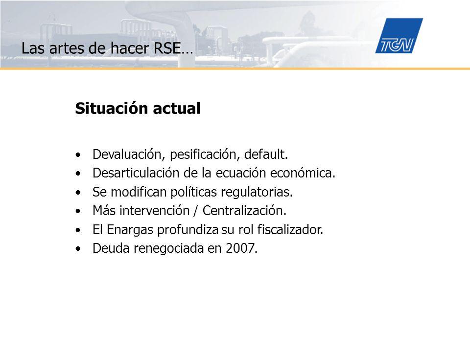 La RSE constituye el compromiso de la empresa de contribuir al desarrollo sostenible, con la participación de sus grupos de interés, a fin de mejorar la calidad de vida de la sociedad en su conjunto Definción Grupo RSE-CEADS -2003