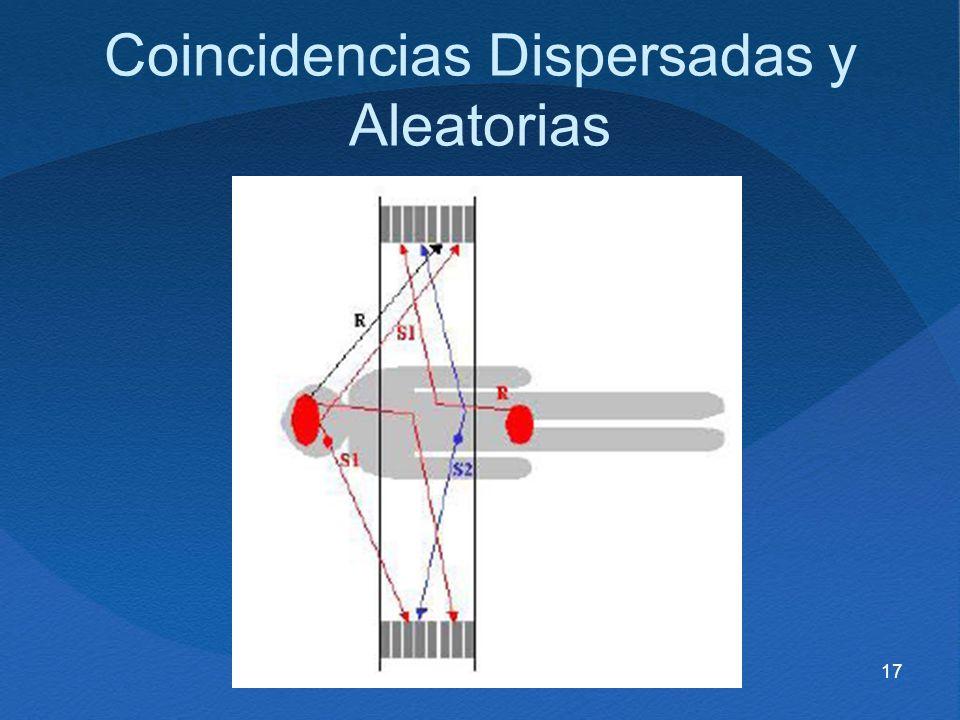 17 Coincidencias Dispersadas y Aleatorias