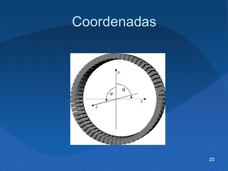23 Coordenadas