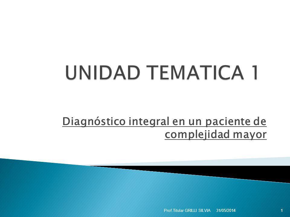 GENERALES Implementar criterio de diagnóstico según factores de riesgo y actividad.