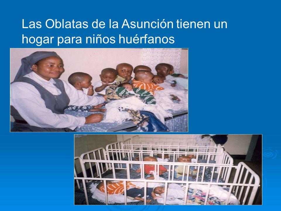 Las Oblatas de la Asunción tienen un hogar para niños huérfanos