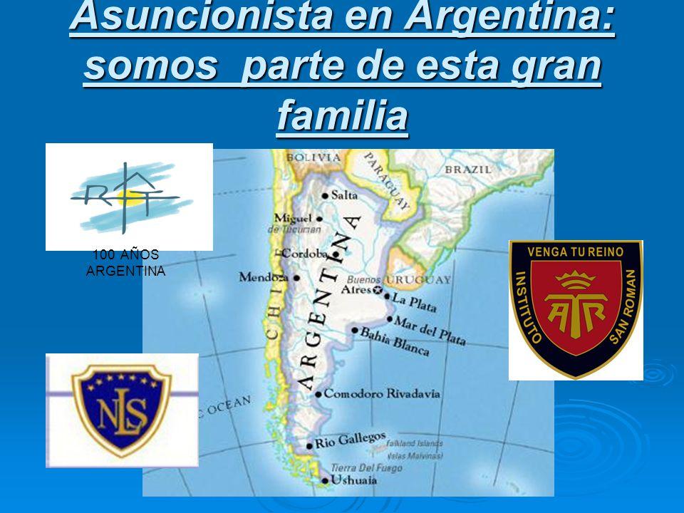 Asuncionista en Argentina: somos parte de esta gran familia 100 AÑOS ARGENTINA