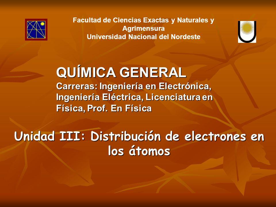 Significado y Valores de los Números Cuánticos Orbital atómico: volumen en el espacio donde es probable encontrar un electrón con determinada energía.