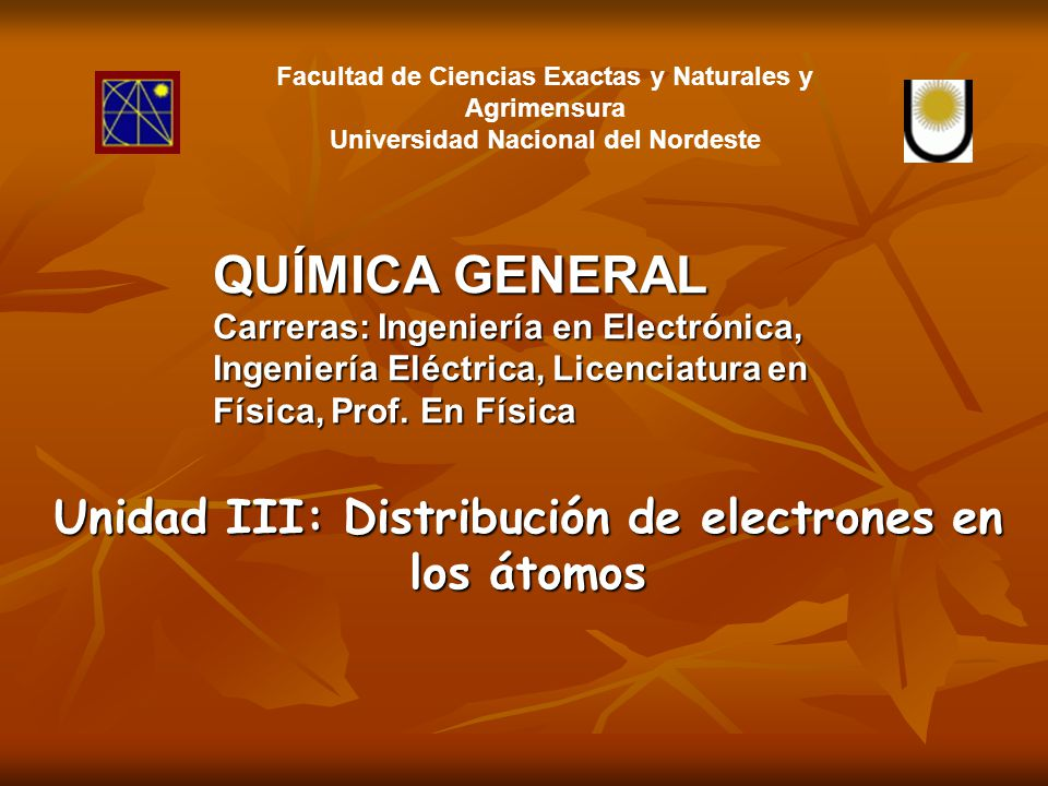 1s 2s 2p 3s 3p 3d 4s 4p 4d 4f CapaKLMN n1234 Subnivel s( = 0) 1 orbital 2 electrones Subnivel p( = 1) 3 orbitales 6 electrones Subnivel d( = 2) 5 orbitales 10 electrones Subnivel f( = 3) 7 orbitales 14 electrones