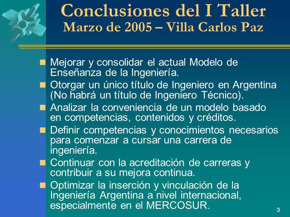 3 Mejorar y consolidar el actual Modelo de Enseñanza de la Ingeniería.