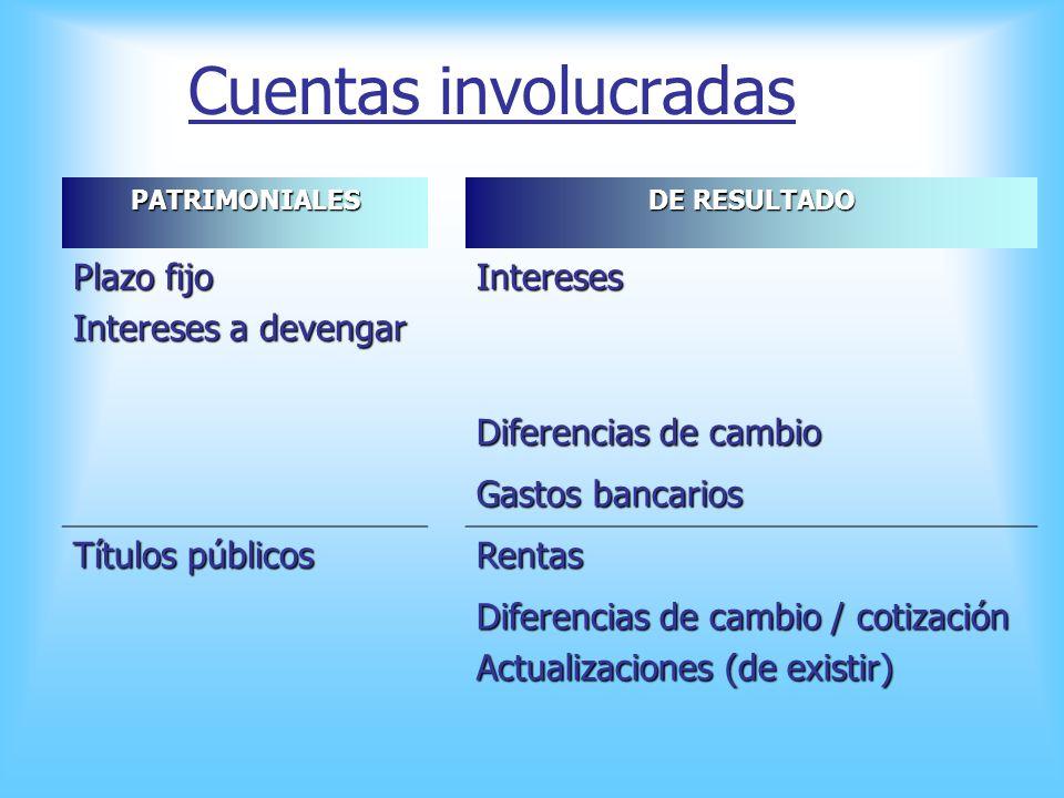 Permanentes: Permanentes: Característica principal: Bienes que se espera realizar en un plazo superior a un año. 1. Depósitos a plazo fijo superiores