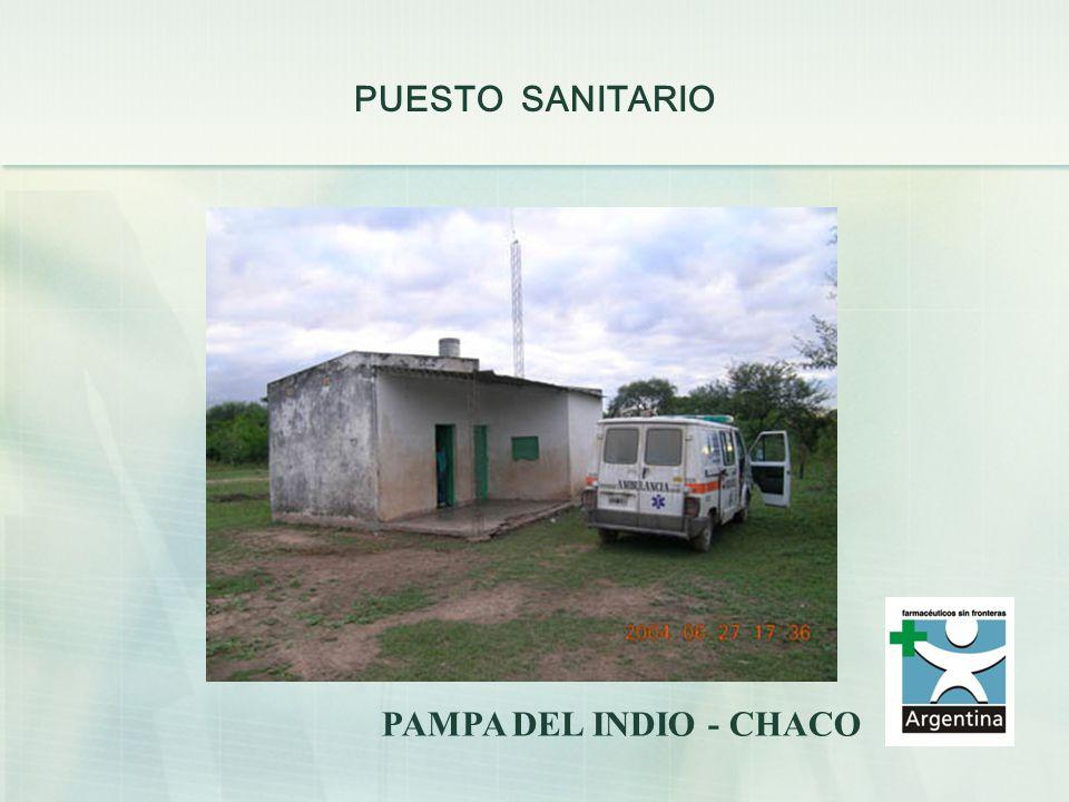 PUESTO SANITARIO PAMPA DEL INDIO - CHACO