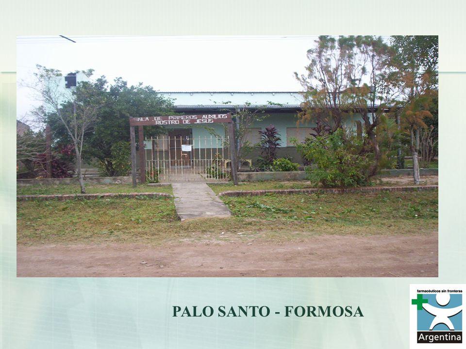 PALO SANTO - FORMOSA