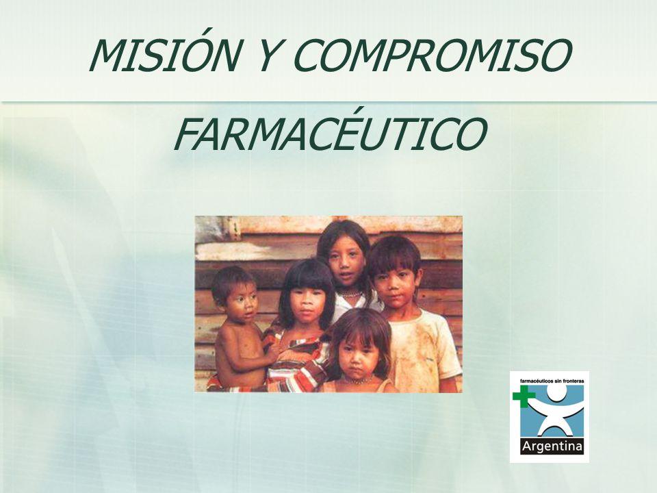 MISIÓN Y COMPROMISO FARMACÉUTICO