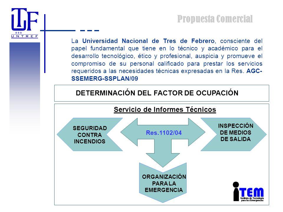 Propuesta Comercial La Universidad Nacional de Tres de Febrero, consciente del papel fundamental que tiene en lo técnico y académico para el desarroll