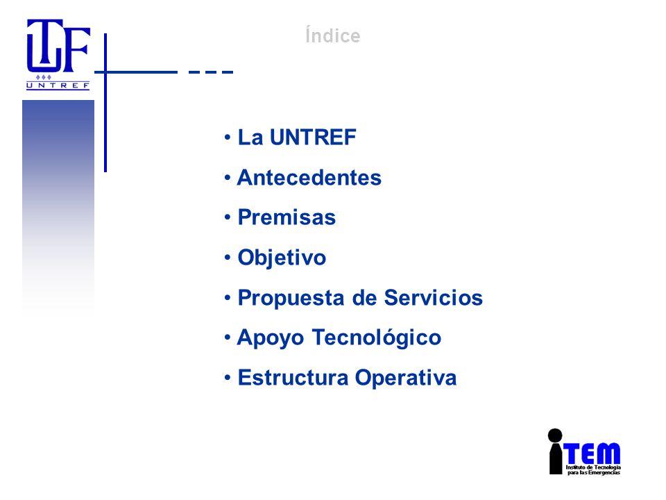 La UNTREF La Universidad Nacional de Tres de Febrero es una institución pública, dinámica y prestigiosa.
