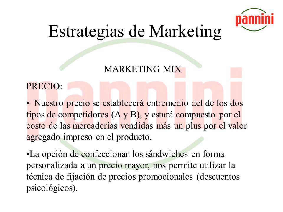 Estrategia de Marketing MARKETING MIX PLAZA: Local ubicado en la calle Lavalle número 478, con capacidad para 132 personas sentadas, con un costo de a
