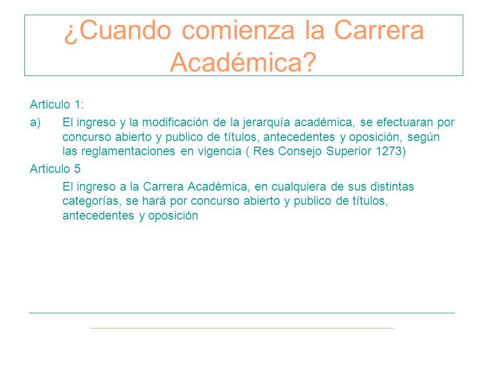 ¿Quién da comienzo a la evaluación de Carrera Académica.