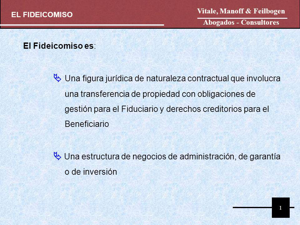 El Fideicomiso es: Una figura jurídica de naturaleza contractual que involucra una transferencia de propiedad con obligaciones de gestión para el Fidu