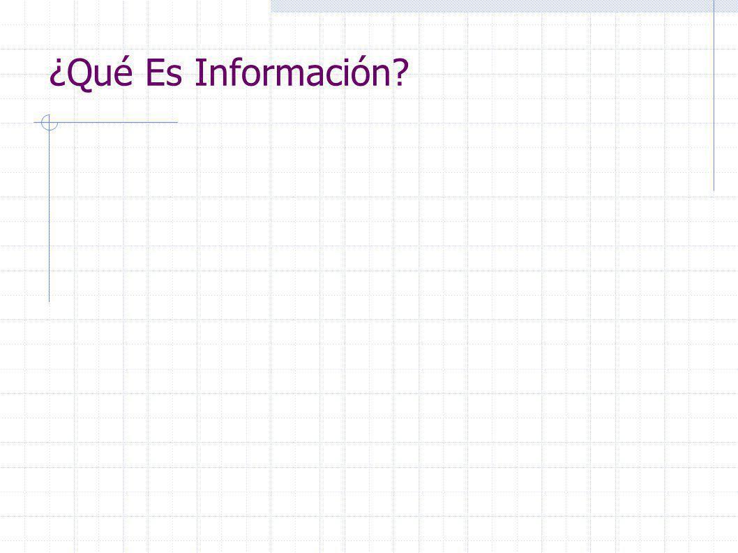 Bit, Como Unidad Mínima De Información.Es la forma básica de representar información.
