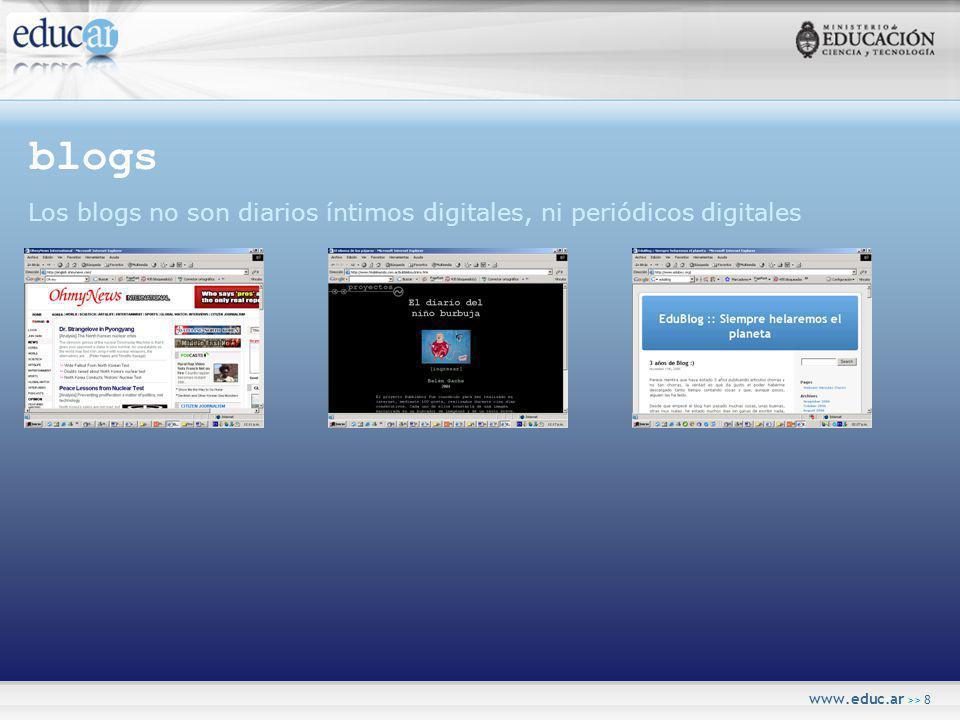 www.educ.ar >> 9 lectura La lectura en formato digital no es un libro en pantalla.