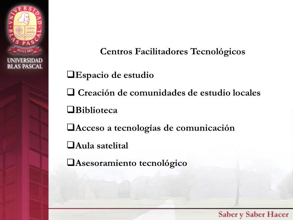 UBP Cordoba - Argentina Centros Facilitadores Tecnológicos CFT
